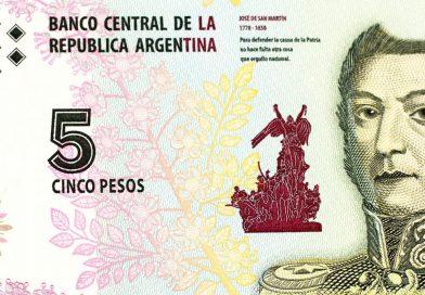 Hasta cuándo se podrán canjear billetes de 5 pesos