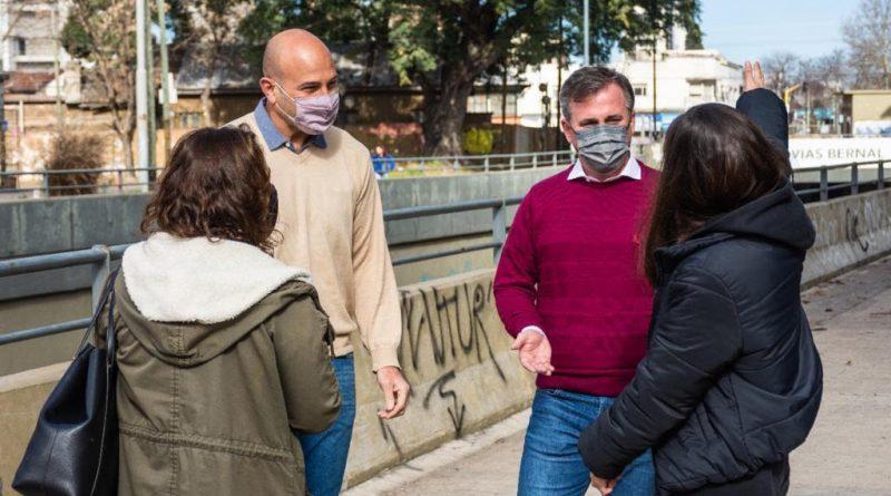 Martiniano Molina con Ignacio Chiodo en Bernal